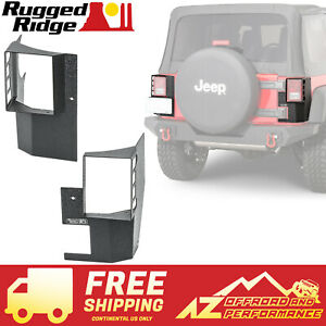 Rugged Ridge Xhd Rear Corner Guard Kit 07 18 Jeep Wrangler Jk 2 Door 11615 21