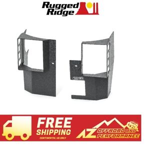 Rugged Ridge Xhd Rear Corner Guard Kit 07 18 Jeep Wrangler Jku 4 Door 11615 20