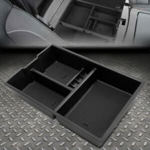 For 09 18 Ram 1500 Removable Center Console Storage Box Armrest Organizer Tray