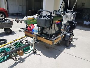 Mobile Pressure Washer Trailer Package