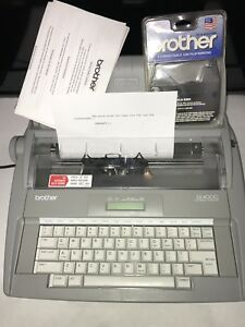 Brother Sx 4000 Electronic Electric Typewriter W dictionary Lcd Tested