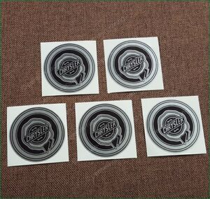 X5 Chrysler Wheel Center Cap Laminated Vinyl Decals Stickers Kit 67mm Any Size