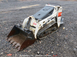2011 Bobcat Mt55 Mini Skid Steer Walk Behind Track Loader Kubota Diesel Surry