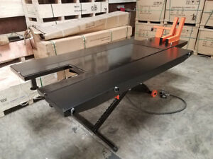 Pro Series Pse Tcmlw 1500 Lb 48 Extra Wide Pneumatic Motorcycle Lift Table
