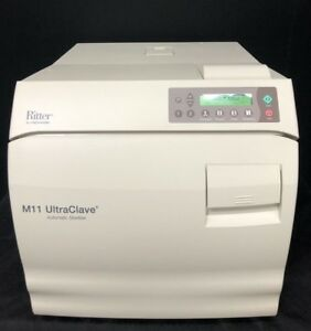 Midmark Ritter M11 Ultraclave New Style Sterilizer 1130 Cycles S n V1671151