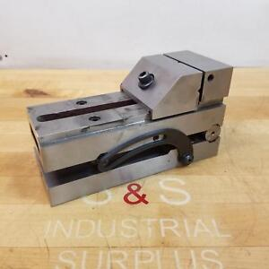 Suburban Tool Sv337s1 Sine Vise 4 3 4 Jaw Capacity 1 5 16 Jaw Height Used