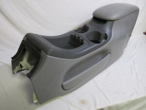 97 02 Ford Expedition Center Console Grey Lincoln Navigator