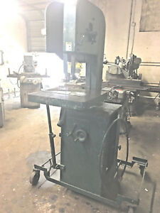 Sold Building all Must Go Do all Vertical Band Saw