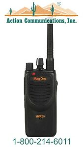 New Motorola Bpr20 Vhf 150 174 Mhz 2 Watt 16 Channel Two way Radio