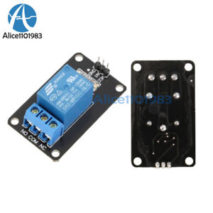 5pcs 5v One 1 Channel Relay Module Board Shield For Pic Avr Arm Mcu Arduino