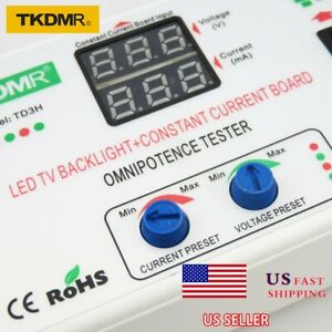 New 330v Tv Led Backlight constant Current Board Tester Tool Repair Tv Led Strip