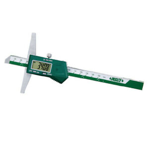 Insize Electronic Digital Depth Gauge 0 20 0 500mm 1141 500a