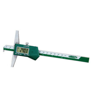 Insize Electronic Digital Hook Depth Gauge 0 8 0 200mm 1142 200a
