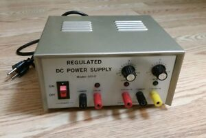 R s r Electronics Model 3010 Regulated Dc Power Supply 15v 1a
