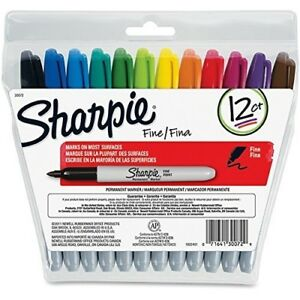 Sharpie Oil based Paint Marker Medium Point Red Ink Pack Of 6