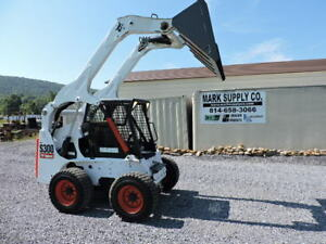 2007 Bobcat S300 Rubber Tire Skid Steer Loader Kubota Diesel 81 Hp High Flow