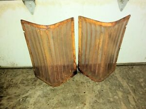 Case 530 Tractor Grill Screens Set 2 Rh Lh Parts Ji Case Grill 540 630