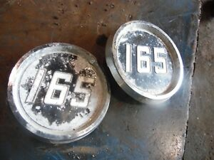 Massey Ferguson 165 Gas Farm Tractor 165 Emblems