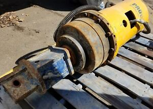 Pro dig Hydraulic Torque Head For Helical Screw Pile Installation