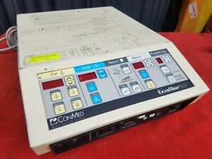 Conmed 60 6250 001 Aspen Excalibur Plus Pc Electrosurgical Unit W Foot Pedal