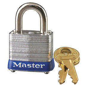 Master Lock 7ka P491 Laminated Steel Body Keyed Alike Padlock Pack Of 6