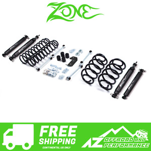 Zone Offroad 3 Suspension System 03 06 Jeep Wrangler Tj J3n