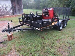 2006 Toro Dingo Tx420 Track Skid Steer With Trailer And Attachments Ship 500