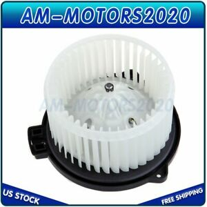 Hvac Heater Blower Motor With W Fan Cage For Toyota Tacoma Echo Pickup Truck Us