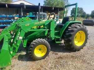 2000 John Deere 990 40 Hp 4wd With John Deere Loader