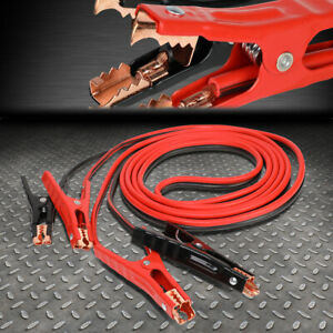 Heavy Duty 6 Gauge 16 Ft Battery Booster Cable Emergency Power Jumper 400 Amp