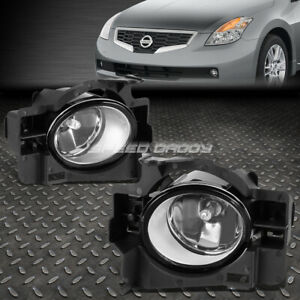 For 08 10 Nissan Altima Coupe D32 Clear Lens Oe Bumper Driving Fog Light Lamp