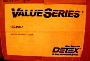 Detex V40 Em Assembly S r Electric Switching Panic Bar 102498 1 See Description