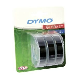 Dymo Embossing Tape_p Pack Of 3 Accessories Supplies Ec s0847730