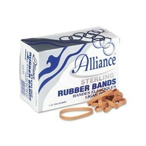 Alliance Sterling Rubber Bands 64 1lb 425 Ct By Alliance