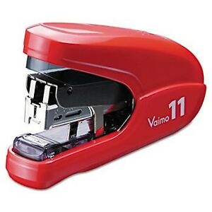Flat Clinch Light Effort Stapler 35 sheet Capacity Red Office Products