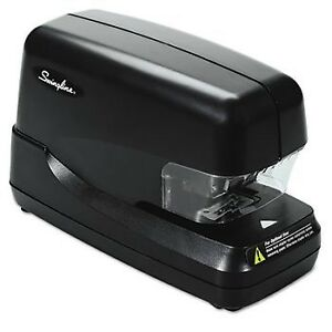 High capacity Flat Clinch Electric Stapler With Jam Release 70 sheet Cap Blac