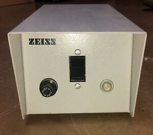 Carl Zeiss Electro Powerpacs 1100 Microscope Lamp Light Power Supply 37 43v
