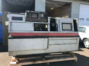 Citizen E32 Lathe Cnc Lathe Live Tooling W front And Back Processing