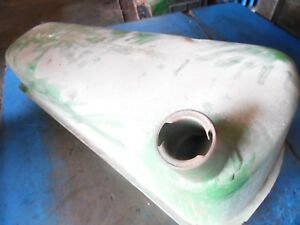 1957 John Deere 420 Gas Crawler Tractor Gas Tank Fairly Clean Inside