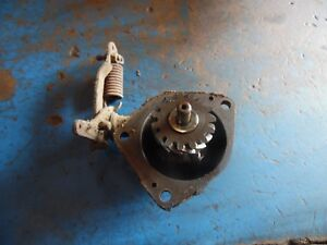 1957 John Deere 420 Gas Crawler Tractor Governor