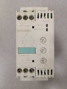 Siemens 3rw3025 1ab14 used Cleaned Tested