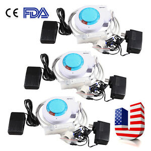 3 fda Dental Ultrasonic Piezo Electric Scaler Fit Ems Woodpecker Scaling Tips E2
