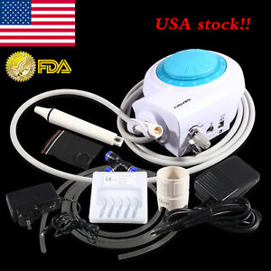 Fda Dental Ultrasonic Piezo Scaler Fit Ems Woodpecker 5 scaling Tips Tube Seasky