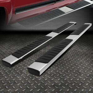 For 09 18 Ram 1500 Quad Cab 6 Stainless Steel Side Nerf Step Bar Running Boards