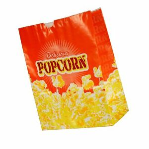 Popcorn Butter Bags 100 Per Case 3 ounce