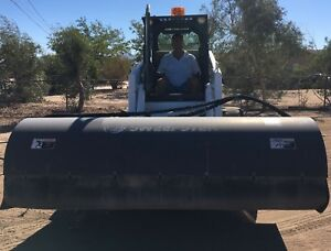 2008 Sweepster Paladin Quick Attachment Hydraulic For Any 2 pin Skid Steer 84