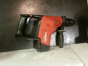 Hilti Te 7 a 36v Li ion Cordless Rotary Hammer tool Only works Very Well