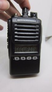 Vertex Standard Vx 354 ag8b 5 16 Channel Uhf Two Way Radio