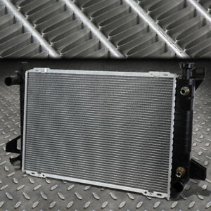 For 85 96 Ford F150 f250 f350 4 9 Mt at Oe Style Aluminum Core Radiator Dpi 1452