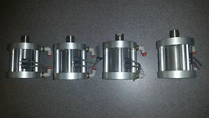 Bimba Flat 1 Compact pancake Pneumatic Cylinders lot Of 4